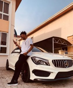"Mayorkun is ""About to be 25, sitting on 35 million"" with a New Car"