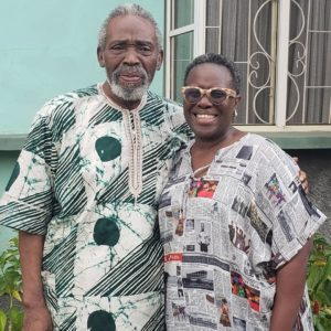 This Photo of Joke Silva & Olu Jacobs reminds us why they are Couple Goals