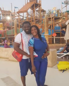 Nollywood Actress Mercy Johnson and her husband Prince Odi Okojie & the Kids on Family Vacation in UAE.