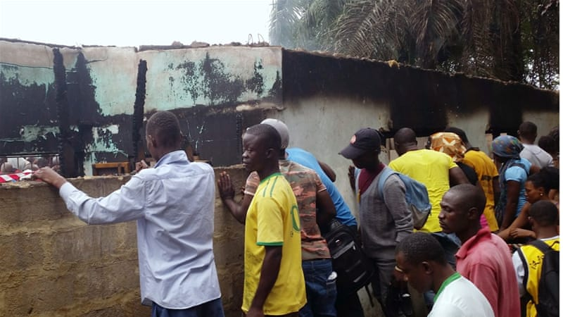 26 children die as fire breaks out in Liberia boarding school