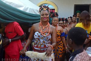 Nollywood Turned Up for the Traditional Wedding of Chizzy Alichi