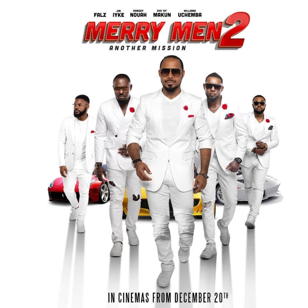 Merry Men 2  The Real Yoruba Demons (Release Date: December 20th) Cast: AY Makun, Ramsey Nouah, Falz, Jim Iyke & More
