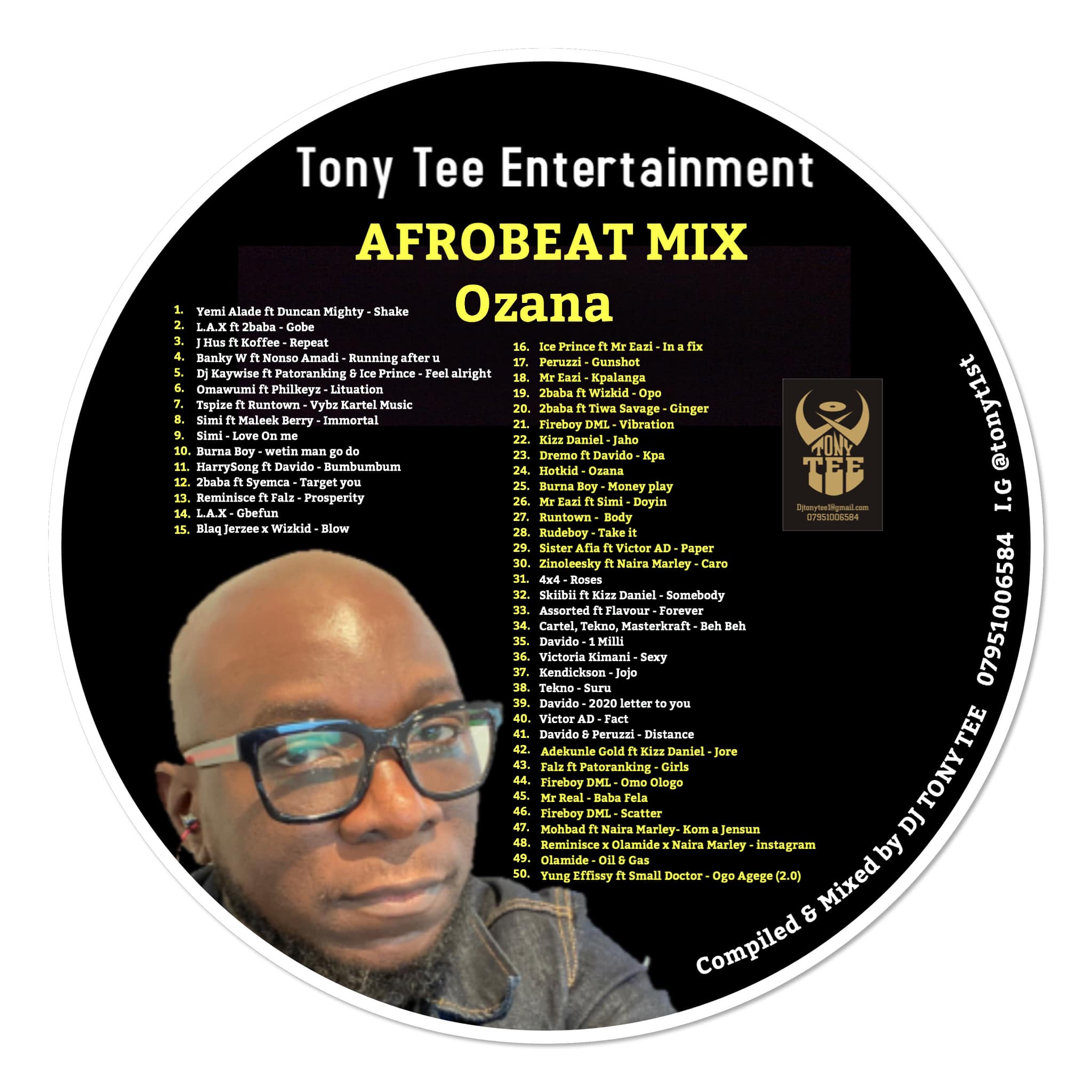 Dj Tony Tee – Ozana Mix